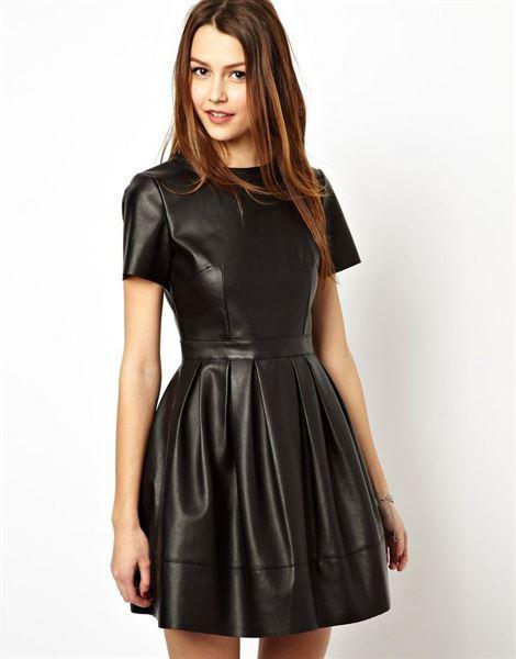 dermatino forema 3 - 5 τρόποι για να φορέσετε ένα δερμάτινο φόρεμα