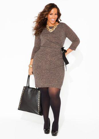 foremata megala megethi 4 - Φορέματα - πουλόβερ σε μεγάλα μεγέθη