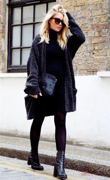 3d1ef5fe1a58 Φορέματα για υπέροχο street style τον χειμώνα