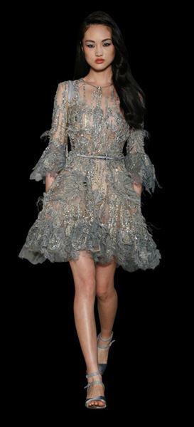Ellie Saab haute couture dress spring summer 2015 3
