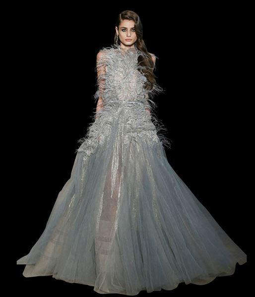 Ellie Saab haute couture dress spring summer 2015 5