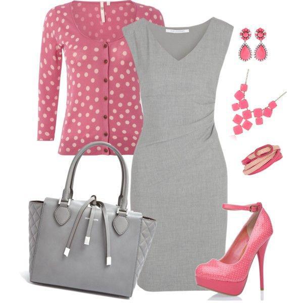 gkri forema 5 - 5 τρόποι να φορέσετε ένα γκρι φόρεμα