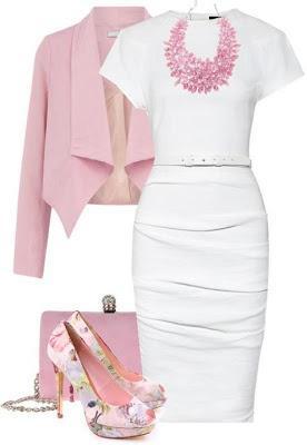 lefko forema 5 - Λευκό φόρεμα για ανοιξιάτικες εμφανίσεις