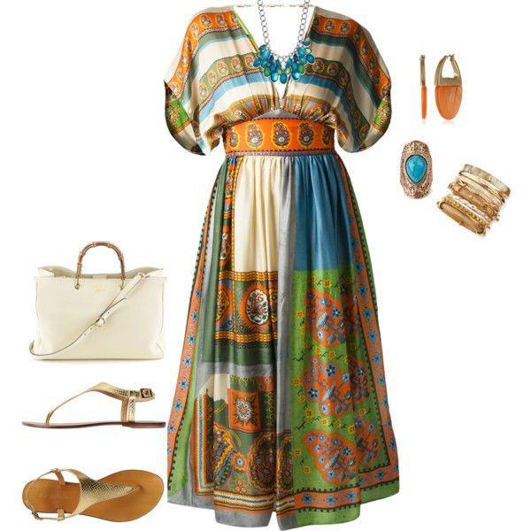 foremata gia paxoules boho styl 4 - Ανοιξιάτικα boho φορέματα για παχουλές