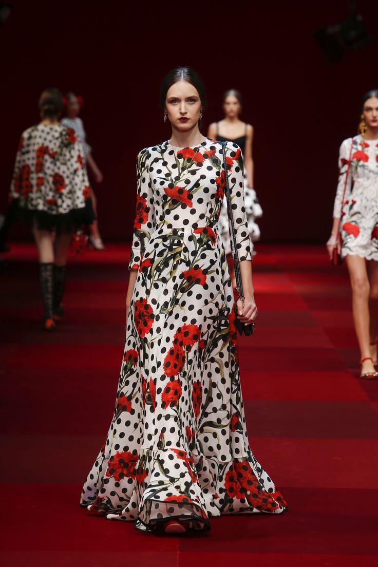 97556ae1bb0a Φορέματα Dolce & Gabbana άνοιξη καλοκαίρι 2015