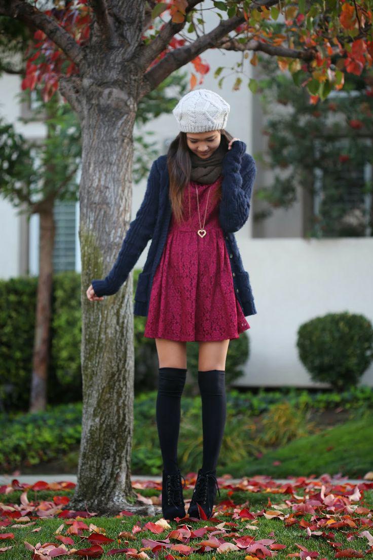 5 foremata me dantela gia to fthinoporo2 - 5 φορέματα με δαντέλα για το φθινόπωρο
