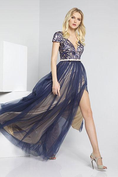 9554f7cbd3 Βραδινά φορέματα Forel άνοιξη καλοκαίρι 2016