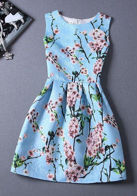 5 mini floral foremata gia to kalokeri 4 - 5 μίνι floral φορέματα για το καλοκαίρι