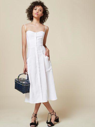 db81a215c2e Πώς να βάλεις ένα λευκό casual φόρεμα το καλοκαίρι - Page 3