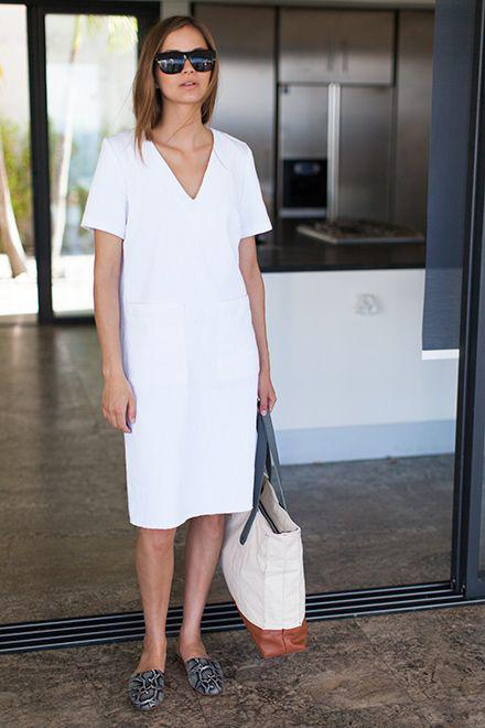 pos na valis ena casual lefko forema to kalokeri 3 - Πώς να βάλεις ένα casual λευκό φόρεμα το καλοκαίρι