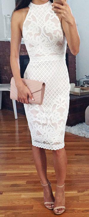 8f83560dac9 Πώς θα βάλω λευκό pencil φόρεμα με στιλ