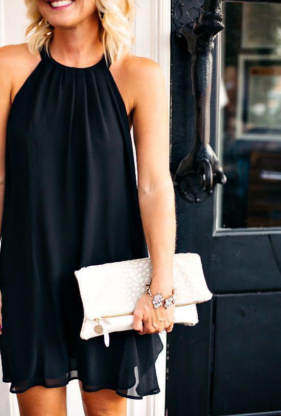 pos na foresis kompsa ena mavro forema 2 - Πώς να φορέσεις κομψά ένα μαύρο φόρεμα