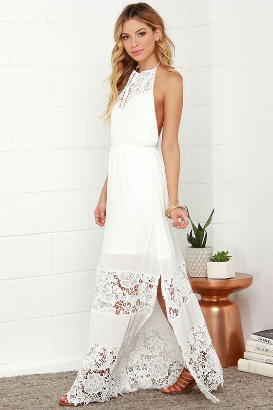5 maxi lefka foremata gia to kalokeri - 5 maxi λευκά φορέματα για το καλοκαίρι