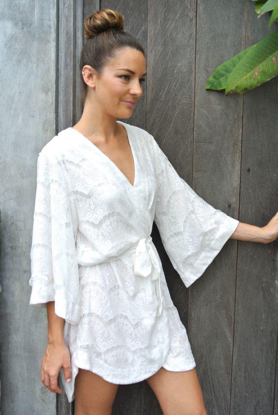 pos tha valis kimono apo dantela san forema 2 - Πώς θα βάλεις κιμονό από δαντέλα σαν φόρεμα