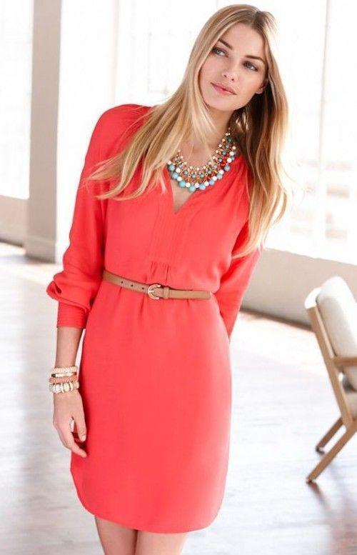 pos tha valis korali shirt dress to kalokeri - Πώς θα βάλεις κοραλί shirt dress το καλοκαίρι
