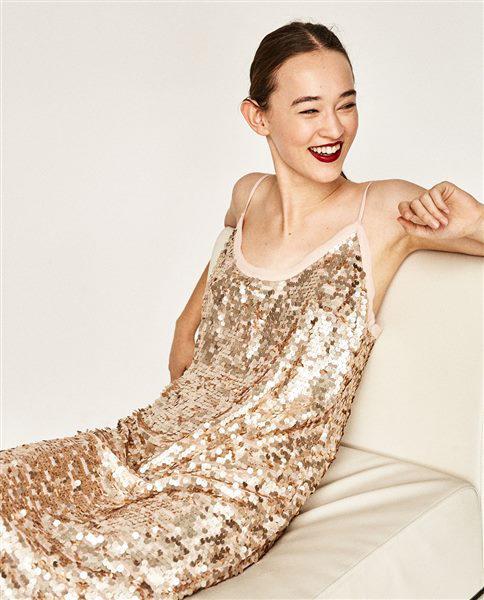 forema zara 3 - Βραδινά φορέματα Zara για τις γιορτές