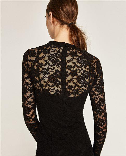 forema zara 6 - Βραδινά φορέματα Zara για τις γιορτές