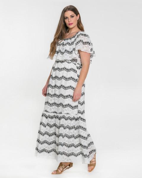 Μοντέρνα φορέματα σε μεγάλα μεγέθη Mat Fashion Άνοιξη Καλοκαίρι 2018 ... bb9c31e3ae8