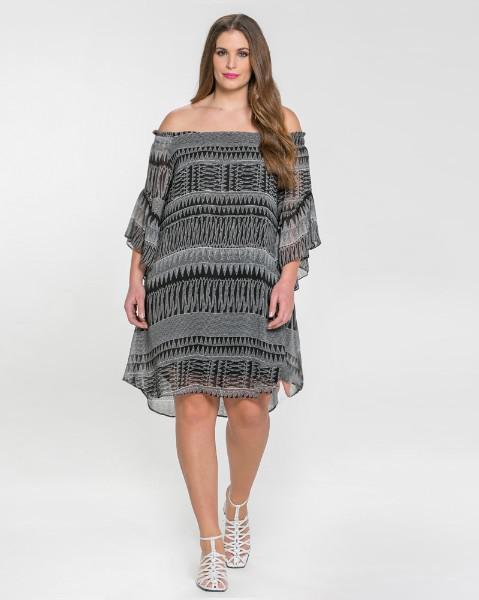 42fc1672373f Μοντέρνα φορέματα σε μεγάλα μεγέθη Mat Fashion Άνοιξη Καλοκαίρι 2018 ...